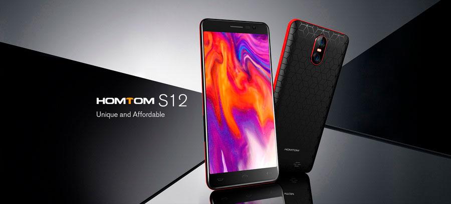 Homtom S12 Blue пополнил ряды бюджетных смартфонов с соотношением сторон 18:9