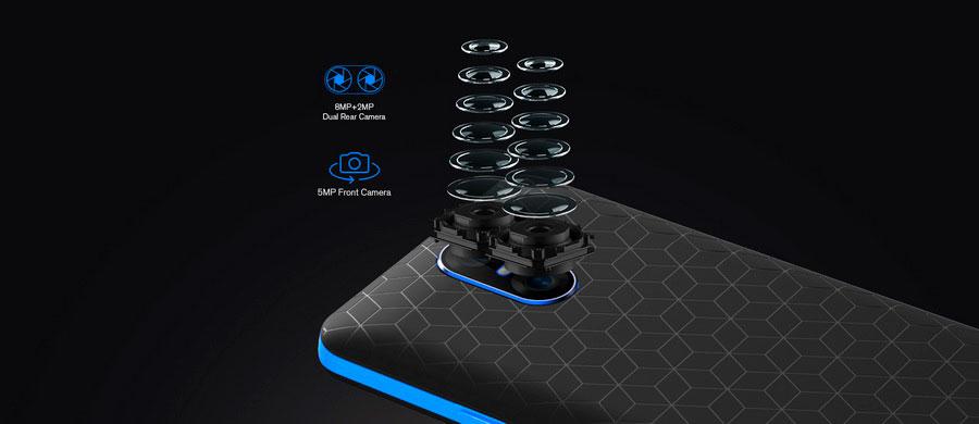 Бюджетный смартфон Homtom S12 Blue