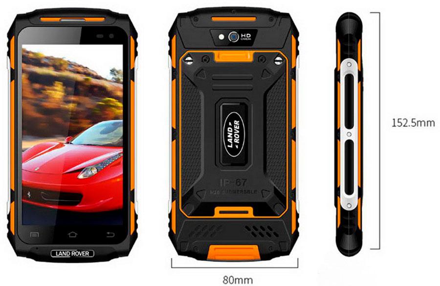 Land Rover X2 (Guophone) Green защищенный android смартфон