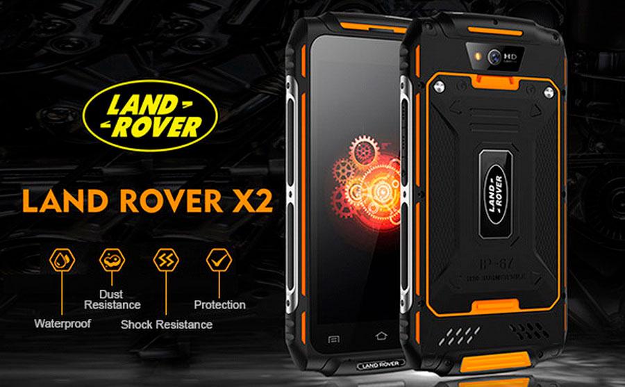 Land Rover X2 Max  Pro Black обновленный противоударный смартфон с 3Гб RAM и 32Гб ROM