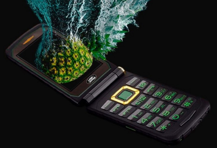 Land Rover X9 Flip водонепроницаемы телефон раскладушка ip68