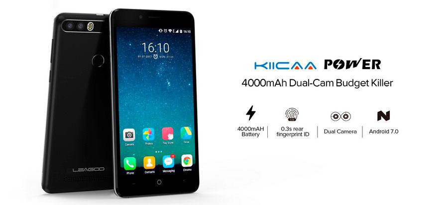 Leagoo KIICAA Power - красивый, запоминающийся смартфон