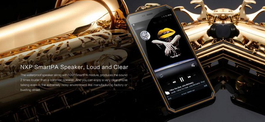 Nomu M6 Pro (3/32Gb) Black хороший защищенный смартфон
