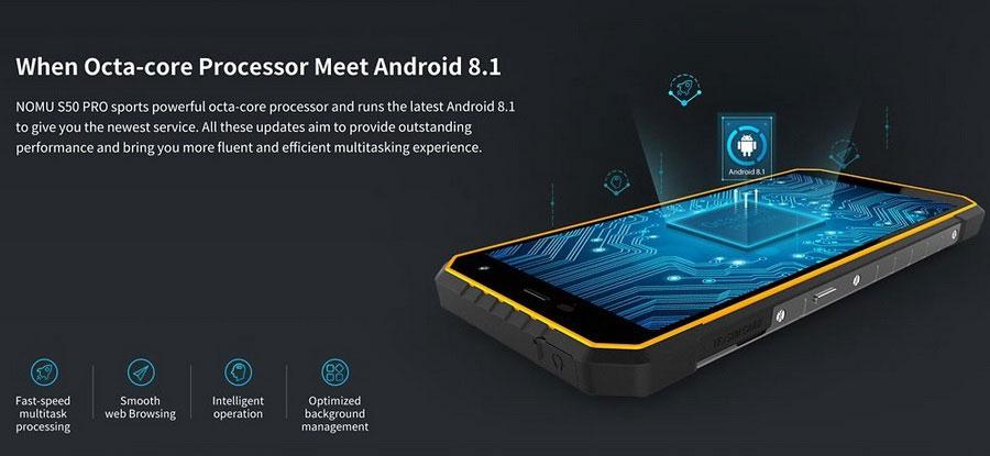 Смартфон получил защищенный по стандартам IP68 и MIL-STD-810G корпус, 5,72-дюймовый дисплей