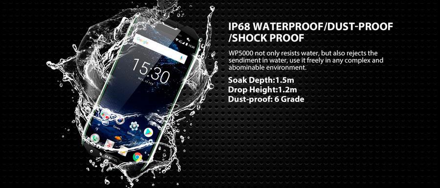Китайская компания Oukitel представила новый защищенный смартфон Oukitel WP5000 Black