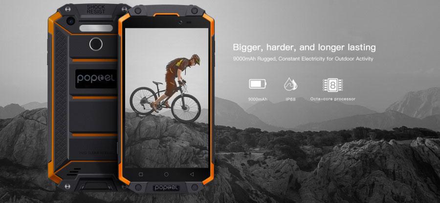Poptel P9000 Max новый долгоиграющий смартфон