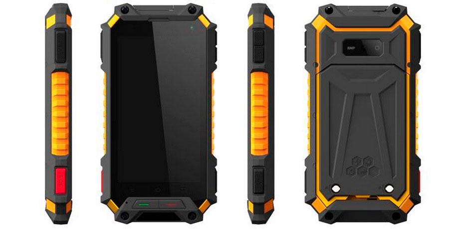 Смартфон Rugtel Tank X10 Pro Orange получил две особенности, которые заинтересуют многих искателей приключений