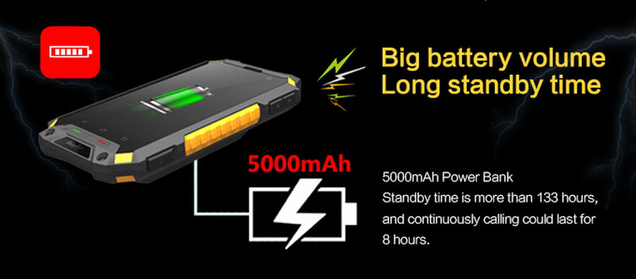 RugTel X10 Pro с поддержкой LTE. Максимальная степень защиты IP-68 (полностью пыленепроницаемый прибор, выдерживающий длительное погружение в воду на глубину более 2м
