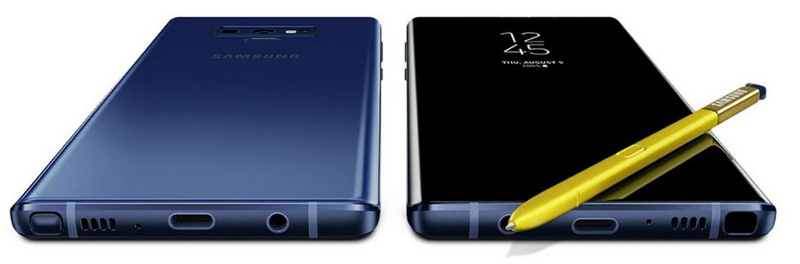 Китайский Samsung Galaxy Note 9 Ocean Blue тайваньские Самсунг Галакси Ноут 9