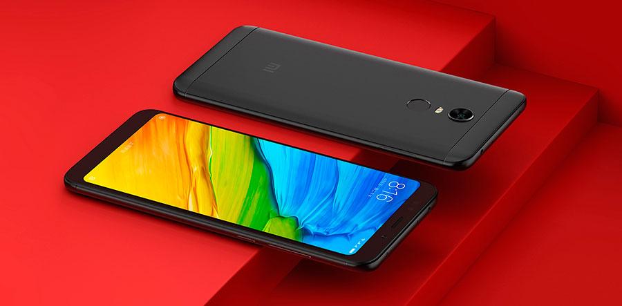 Смартфон Xiaomi Redmi 5 Plus 4/64Gb Black удобное соотношение сторон экрана. Широкий угол обзора