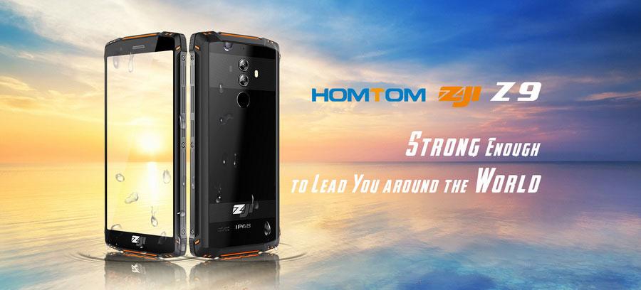HomTom ZOJI Z9 Green - защищенный смартфон