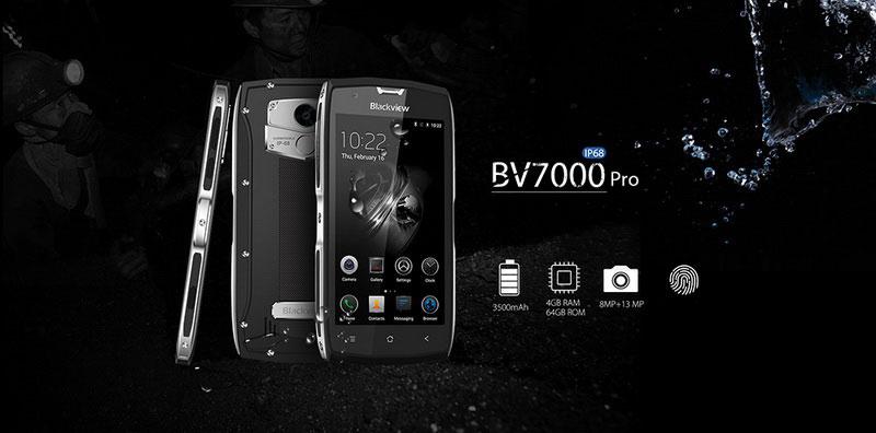 Blackview BV7000 Pro Stardust Grey новая модель защищенного смартфона