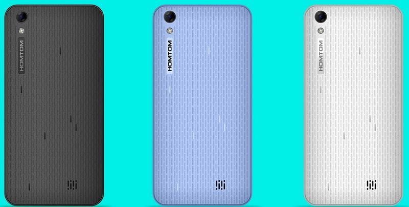 Homtom HT16 Pro тонкий бюджетный смартфон с акб на 3000мач