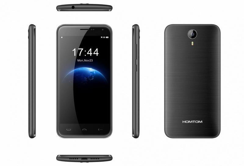 Homtom HT3 Pro Black в смартфоне имеется 2 гигабайта ОЗУ