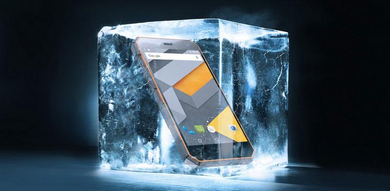 Nomu S10 Orange имеет защиту от перепадов температуры