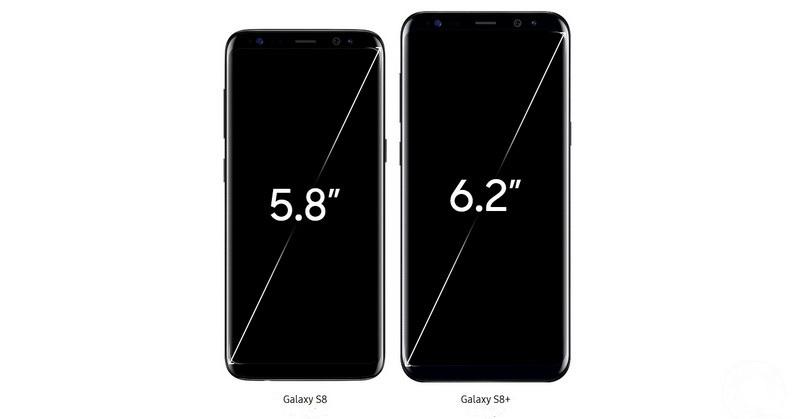 Самсунг Галакси С8 плюс Черный