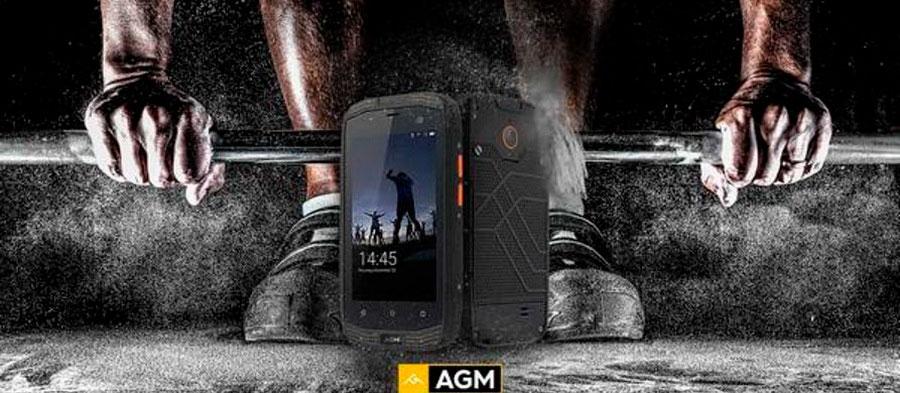 AGM A2: защищенный смартфон с четырехдюймовым экраном