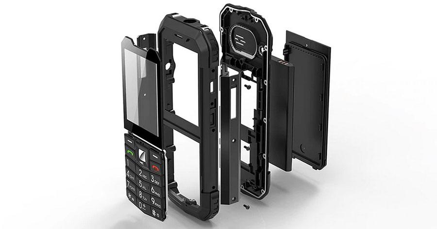 Защищенный мобильный телефон AGM M3 Black ip68 в Киеве