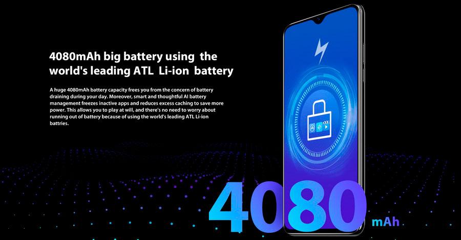 Blackview A60 Green на ОС Android 8.1 Oreo