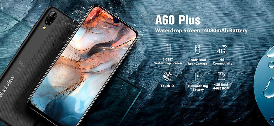 Blackview A60 Plus (4/64Gb) Black добавили памяти, обновили Android