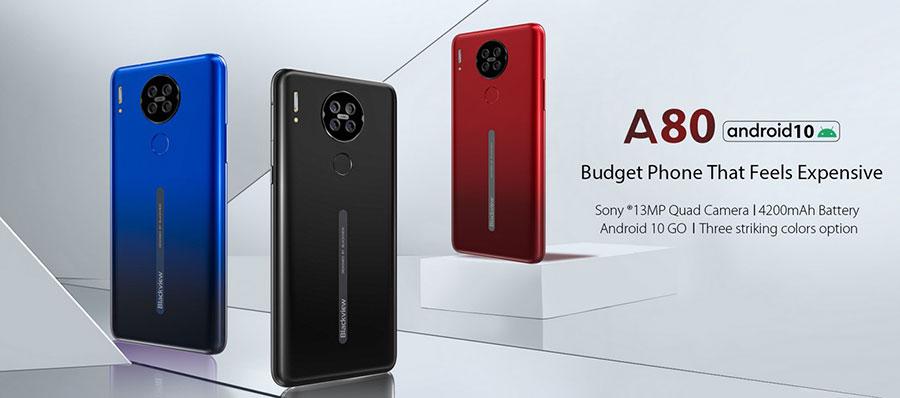 Blackview A80 2/16Gb Black поддерживает 3G и 4G. Этот смартфон имеет встроенный GPS-приемник