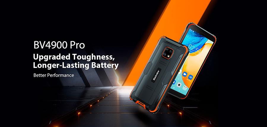Blackview BV4900 Pro 4/64GB Black новая модель с улучшенными параметрами