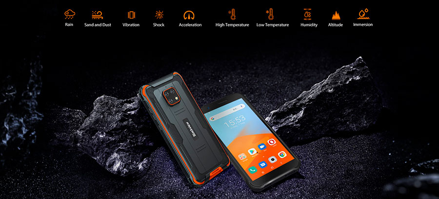 Blackview BV4900 3/32GB Black смартфон для походов, строителей, механиков с защитой от всего!