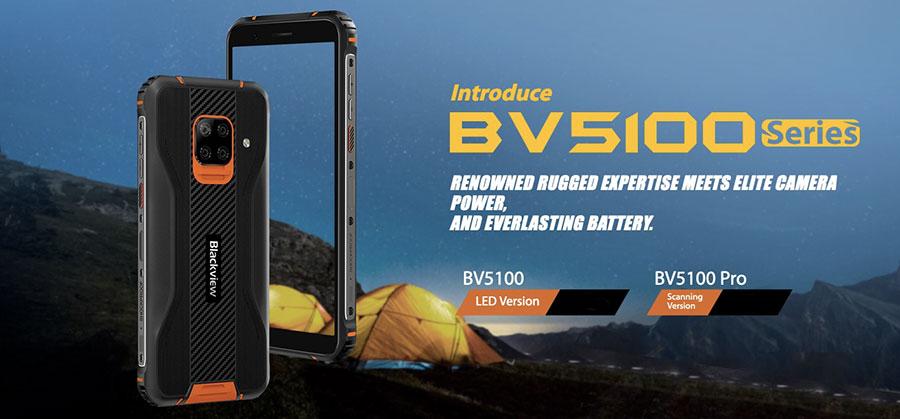 Blackview BV5100 Pro 4/128Gb Black (со сканером штрихкодов) новинка 2020 года от blackview уже в наличии в Киеве и Украине