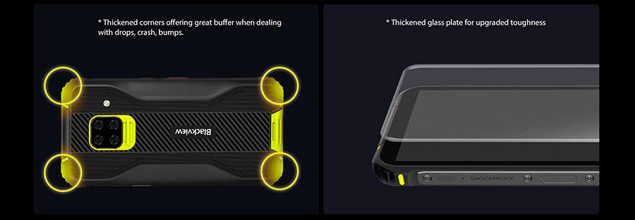 """Blackview BV5100 4/128Gb Green установлен актуальный Android 10 со всеми обновлениями и """"плюшками"""""""