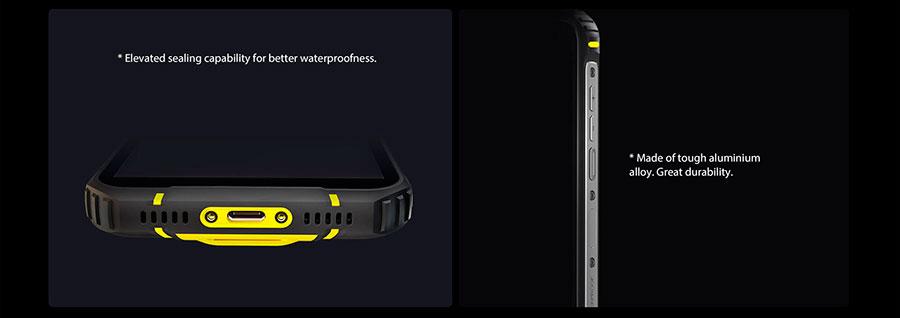 Blackview BV5100 4/128Gb Green 4 камеры и светодиодная вспышка, а также известно что основной объектив располагает разрешением Sony