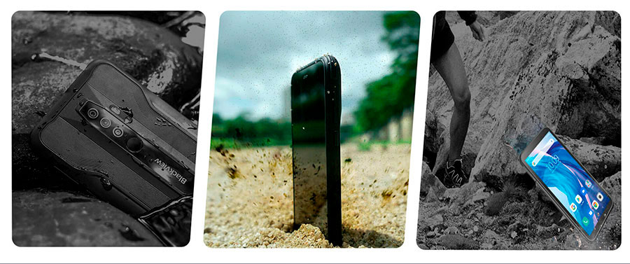 Blackview BV6300 3/32GB Black супер мощный и защищенный смартфон