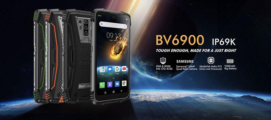 Blackview BV6900 Orange унаследовал свой дизайн от модели BV9700 Pro, который признан одним из лучших среди моделей производителя.