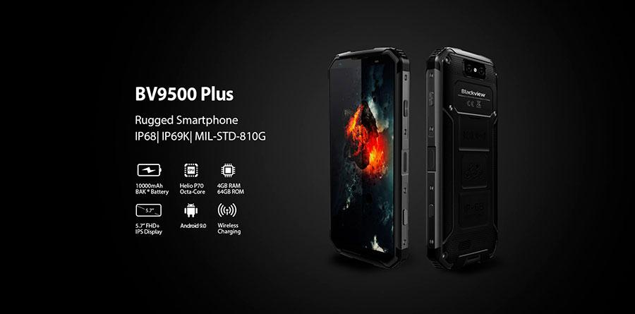Blackview bv9500 plus обновленная модель защищенного смартфона с новым процессором