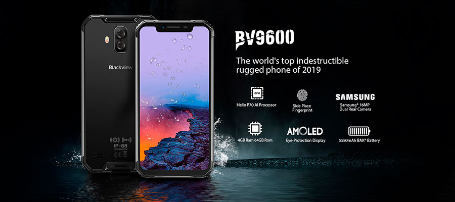 Blackview BV9600 Black 4Gb + 64Gb новинка 2019 года