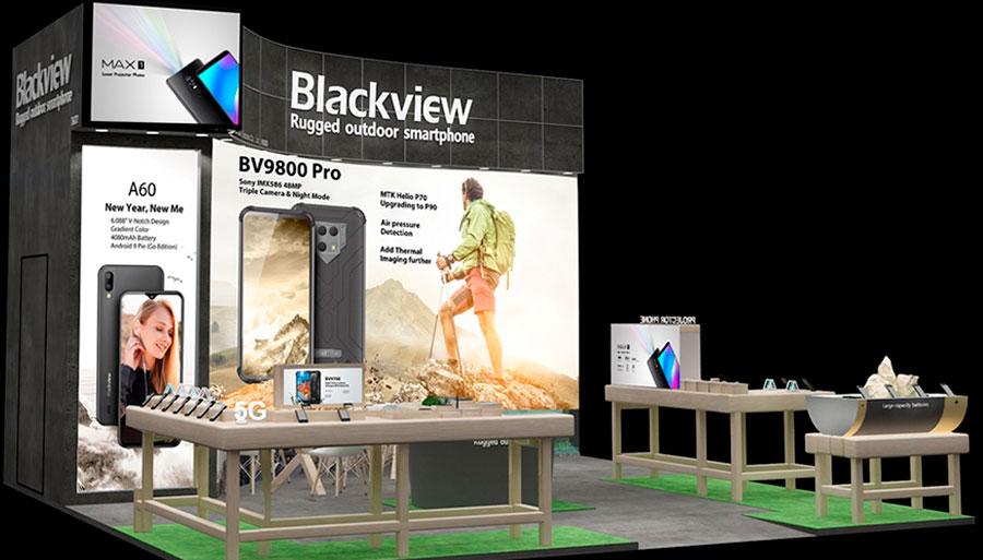 Защищенный смартфон Blackview BV9800 оснащен тремя камерами, одна из которых  Sony IMX586 48 МП.
