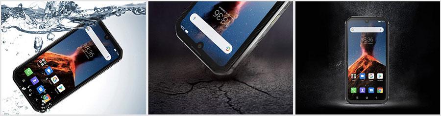 Смартфон соответствует стандартам IP68/IP69 и MIL-STD-810G