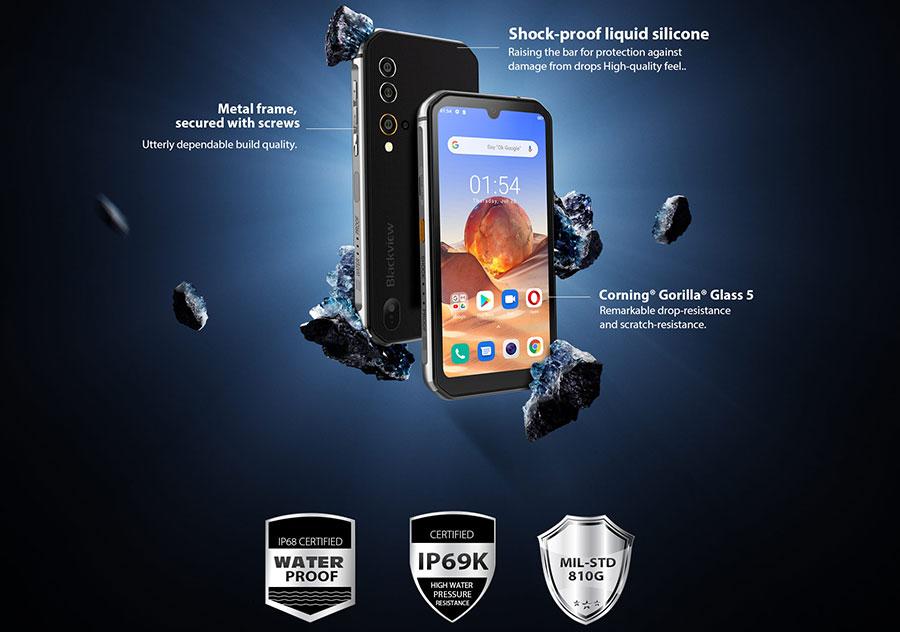 Blackview BV9900E 6/128GB Black поставляется с функцией Near Field Communications (NFC) для передачи контента с другими устройствами с поддержкой NFC. Этот смартфон Blackview имеет FM-радиоприемник.