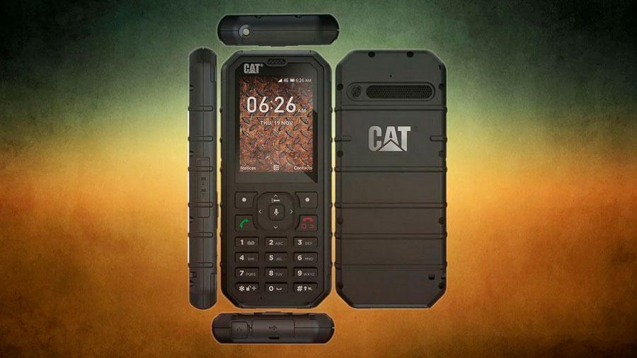 Caterpillar представила защищенный - фичерфон Cat B35