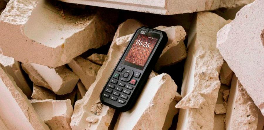 Неубиваемый кнопочный телефон Cat B35