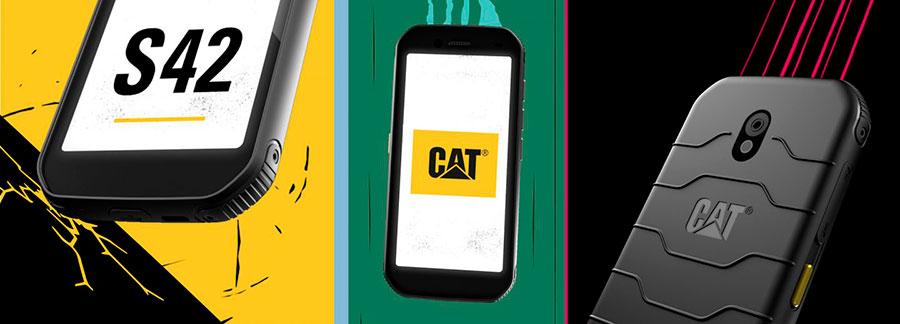 Новинка защищенного смартфона от Caterpillar смартфон CAT S42 выпущен в 2020 году и уже в наличии в Украине