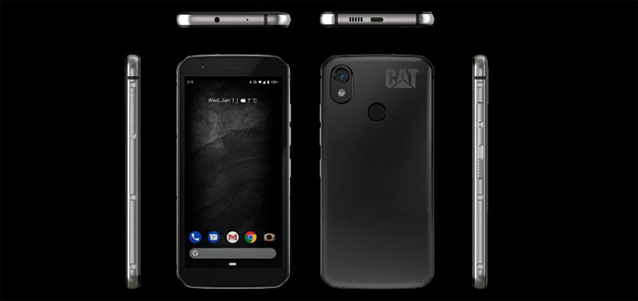 Cat S52 смартфон не боится воды и пыли (IP68), а также соответствует стандарту MIL SPEC-810G.