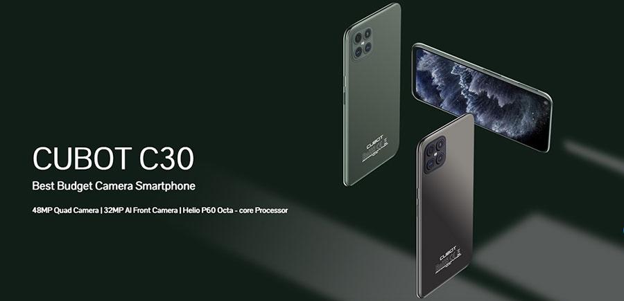Cubot C30 8/128Gb Black тут установлены восьмиядерная платформа, модуль NFC, аккумулятор с емкостью 4200 мАч.