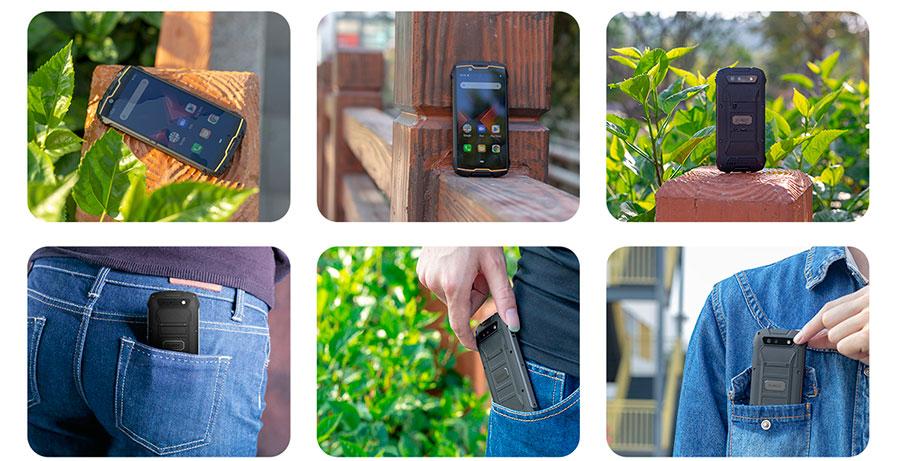 Cubot KingKong mini 3/32GB Orange лучший маленький противоударный смартфон