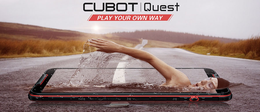 Cubot представила смартфонCubot Quest 4/64GB Red который позиционируется как первый в мире спортивный смартфон