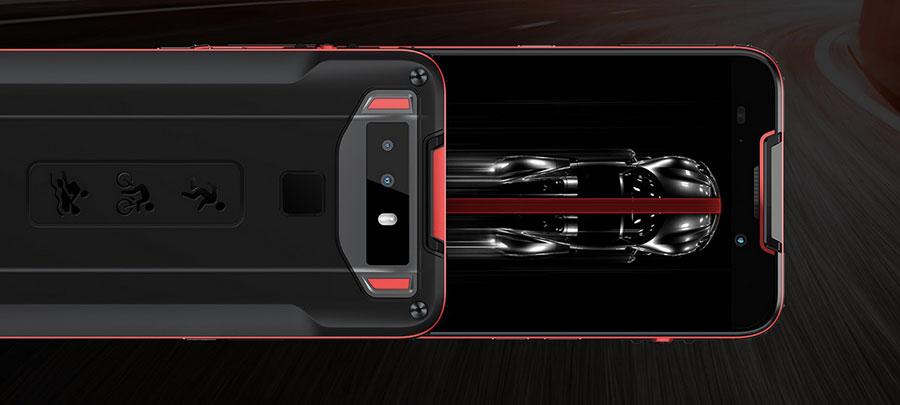 Cubot Quest 4/64GB Red самый тонкий защищенный смартфон