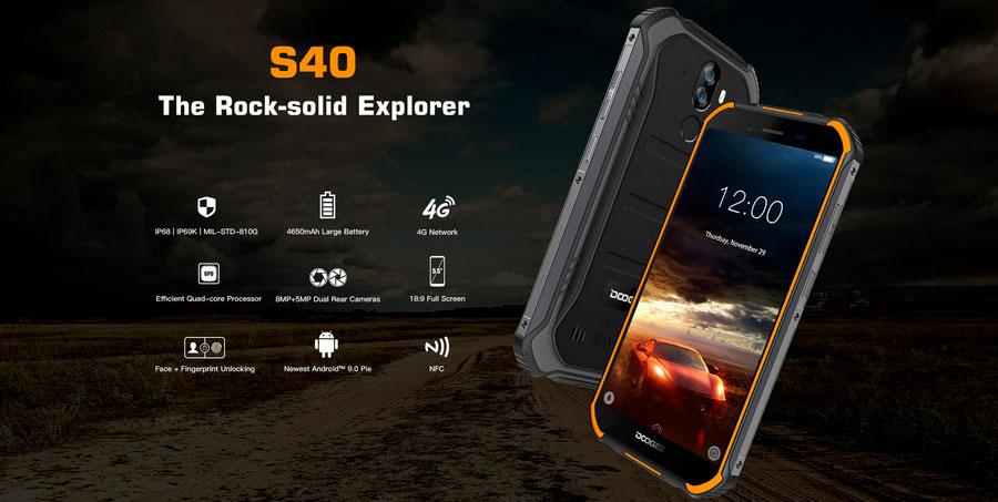 Doogee S40 3/32Gb купить в Украине по лучшей цене