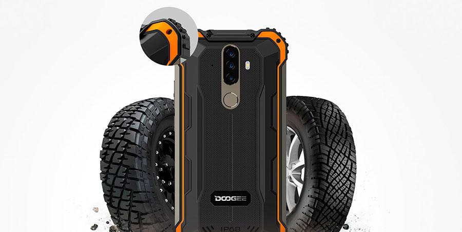 Doogee S58 Pro 6/64GB Black Камеры. Фронтальная - 16 МП. Тыловой блок тройной. То ли 16+2+2 МП