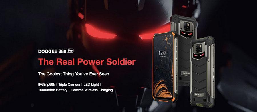 Корпус S88 Pro - это сочетание мощных композитных материалов, большого количества металлических деталей и стекла Corning Gorilla Glass.