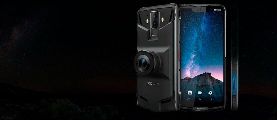 Doogee S90 Pro 6/128GB Black защищенный смартфон ip69