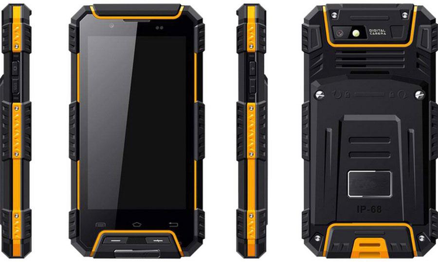 land rover g702 3/32gb yellow защищенный смартфон за не большие деньги